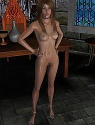 Scanty Ladies In 3D