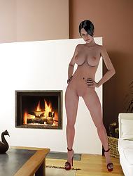 Nude Ladies Concerning 3D