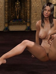 Nude Gentlefolk In 3D