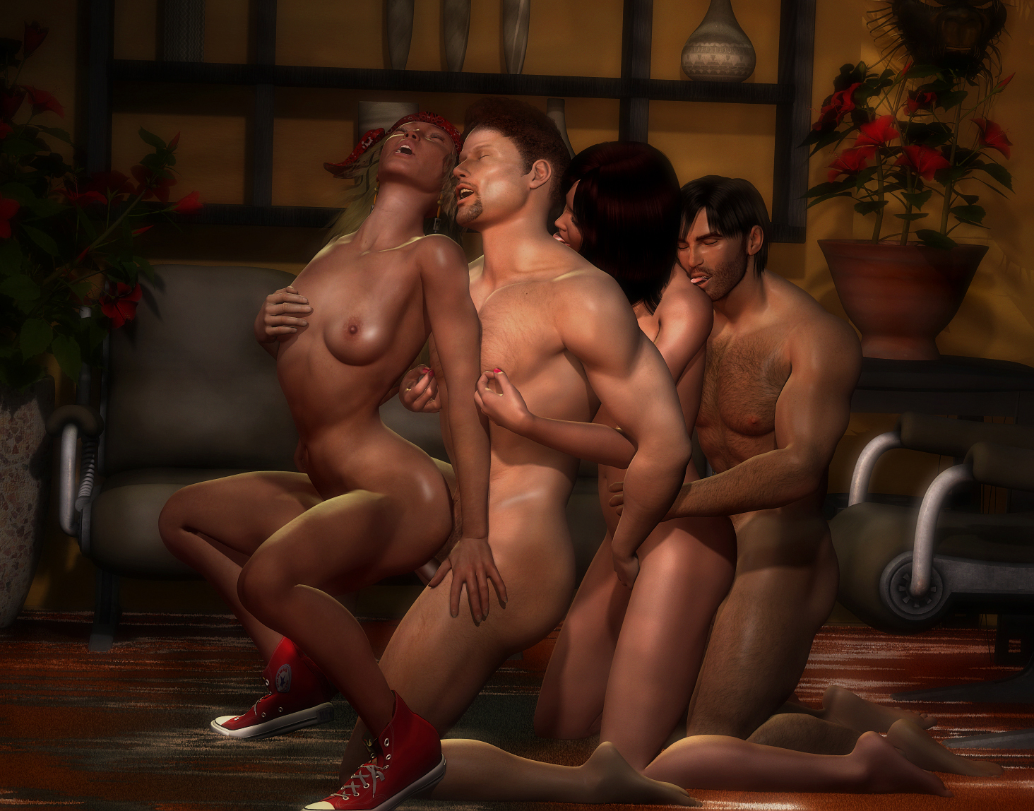Cartoon sex3d nsfw scene
