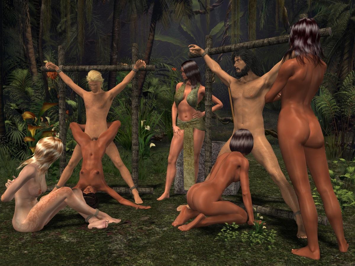 Секс Игры Джунгли