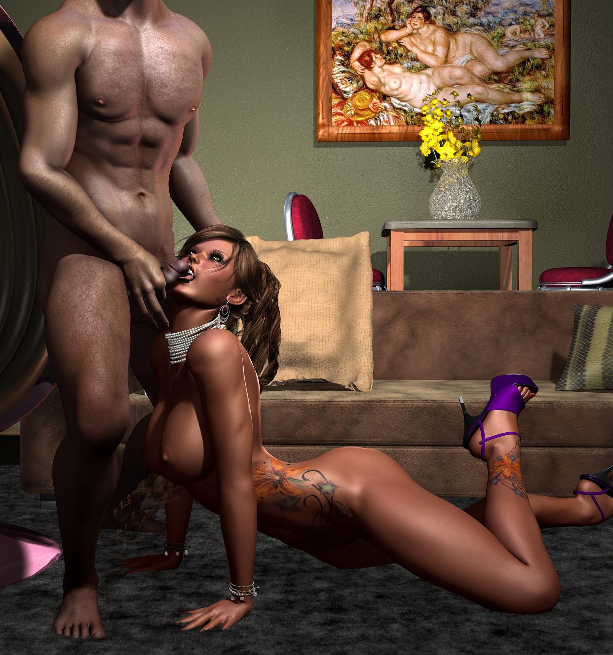 Порно 3d Реальность