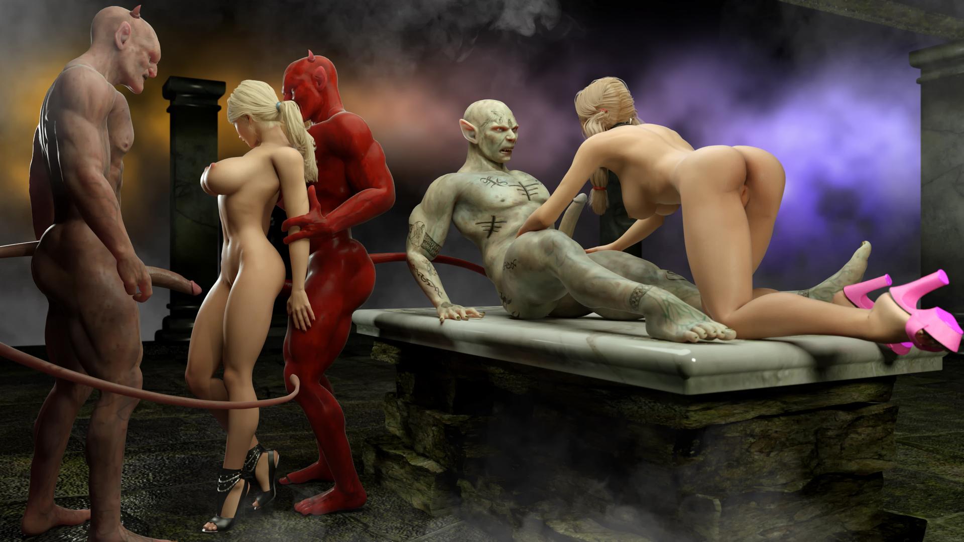 Porno pics demon hardcore scenes