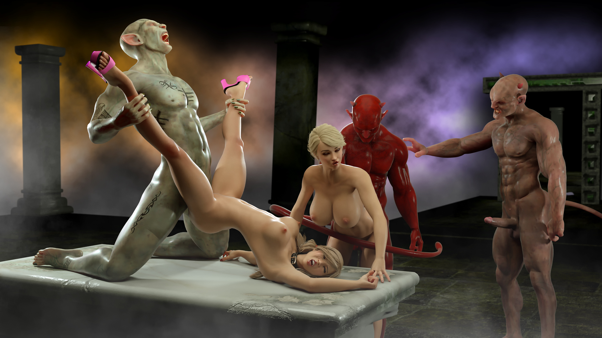 Sex 3d demons nudes scenes
