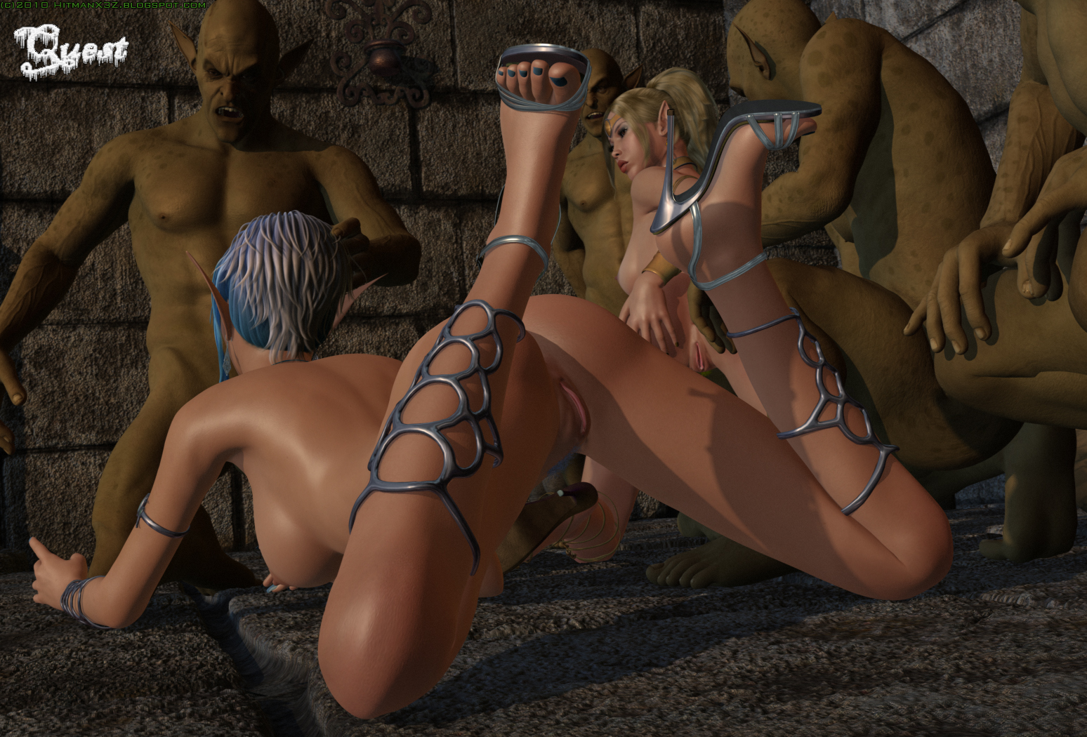 3d sex with monsters girls hentai gallery
