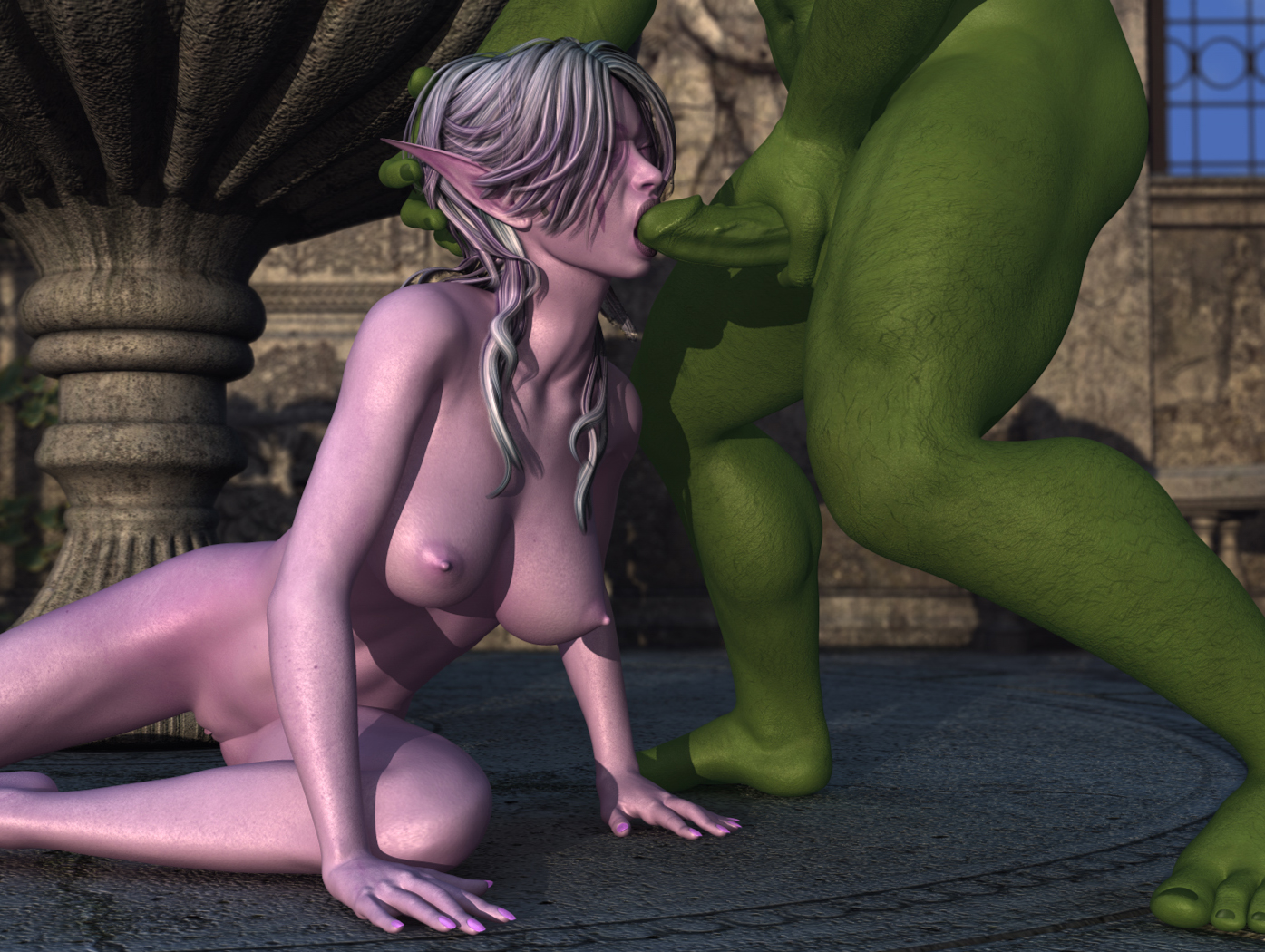 Cartoon porn orc bang elf sexual galleries