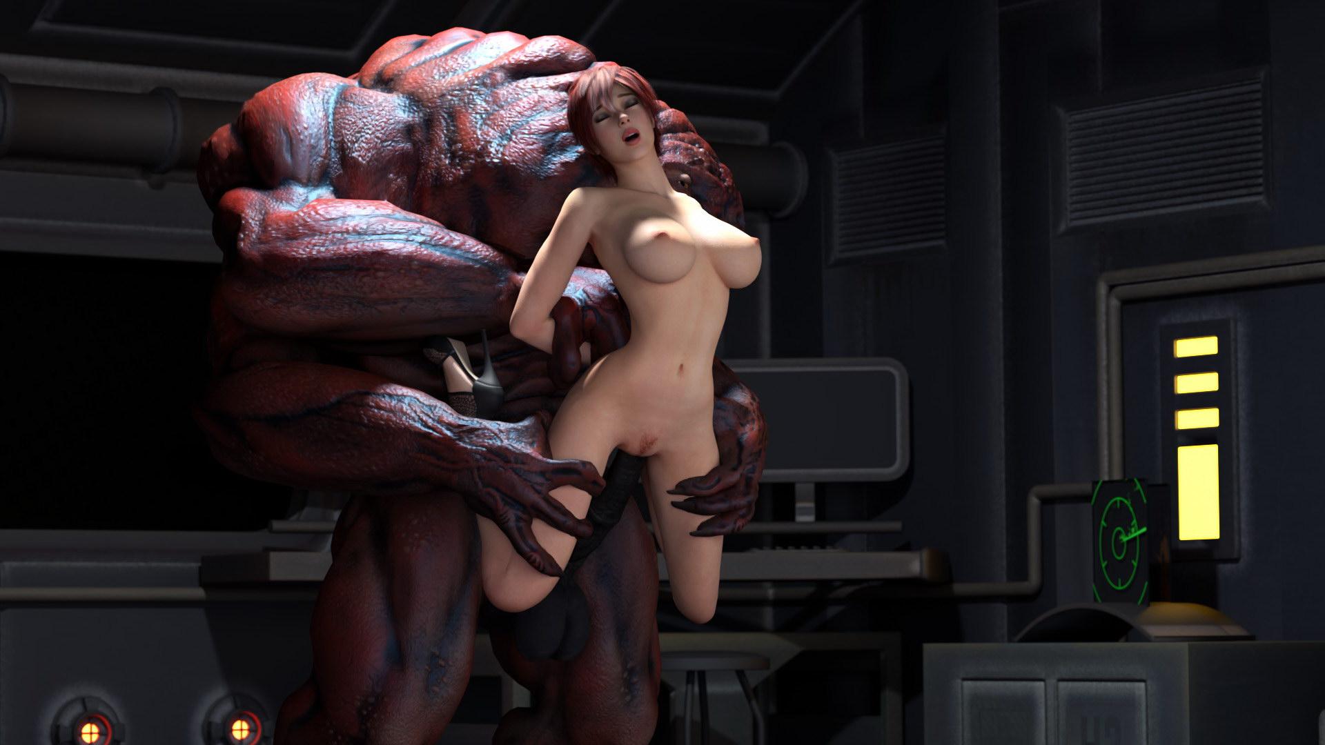 секс пришельцев с женщинами