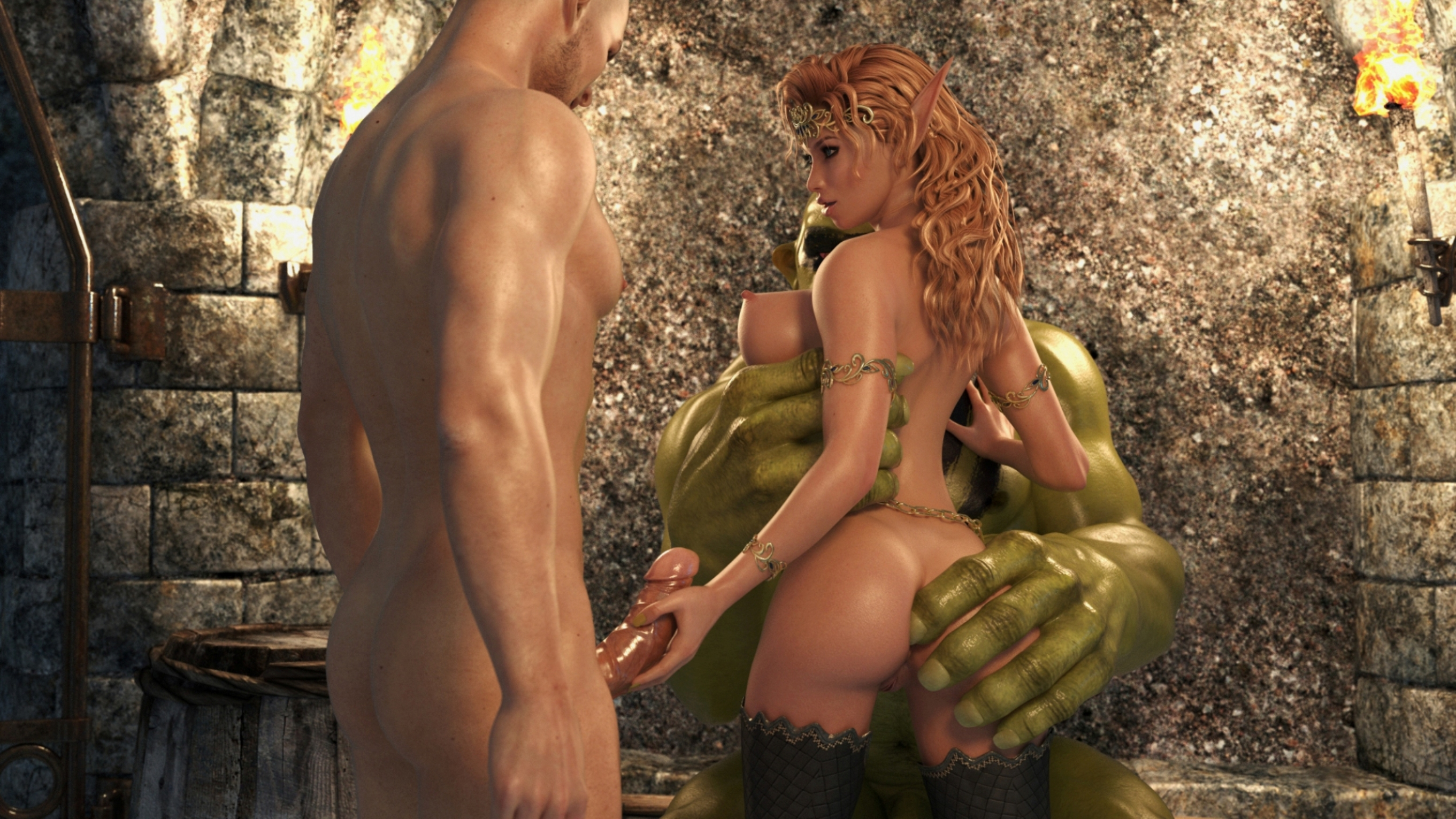 3d hd elves-porn videos hentai scenes
