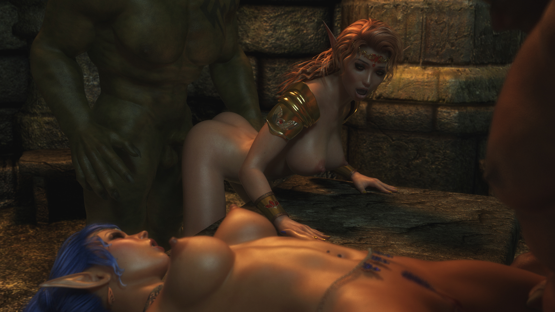 Monster's dungeon sex hentia scenes