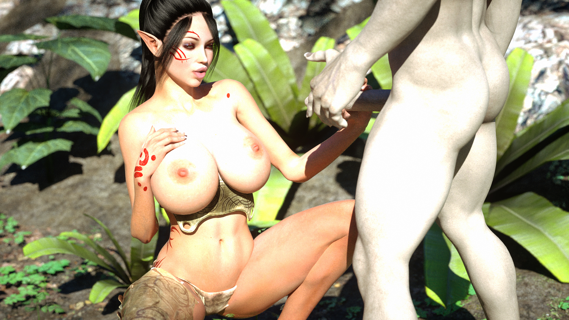Elf in forest porn sexual pictures