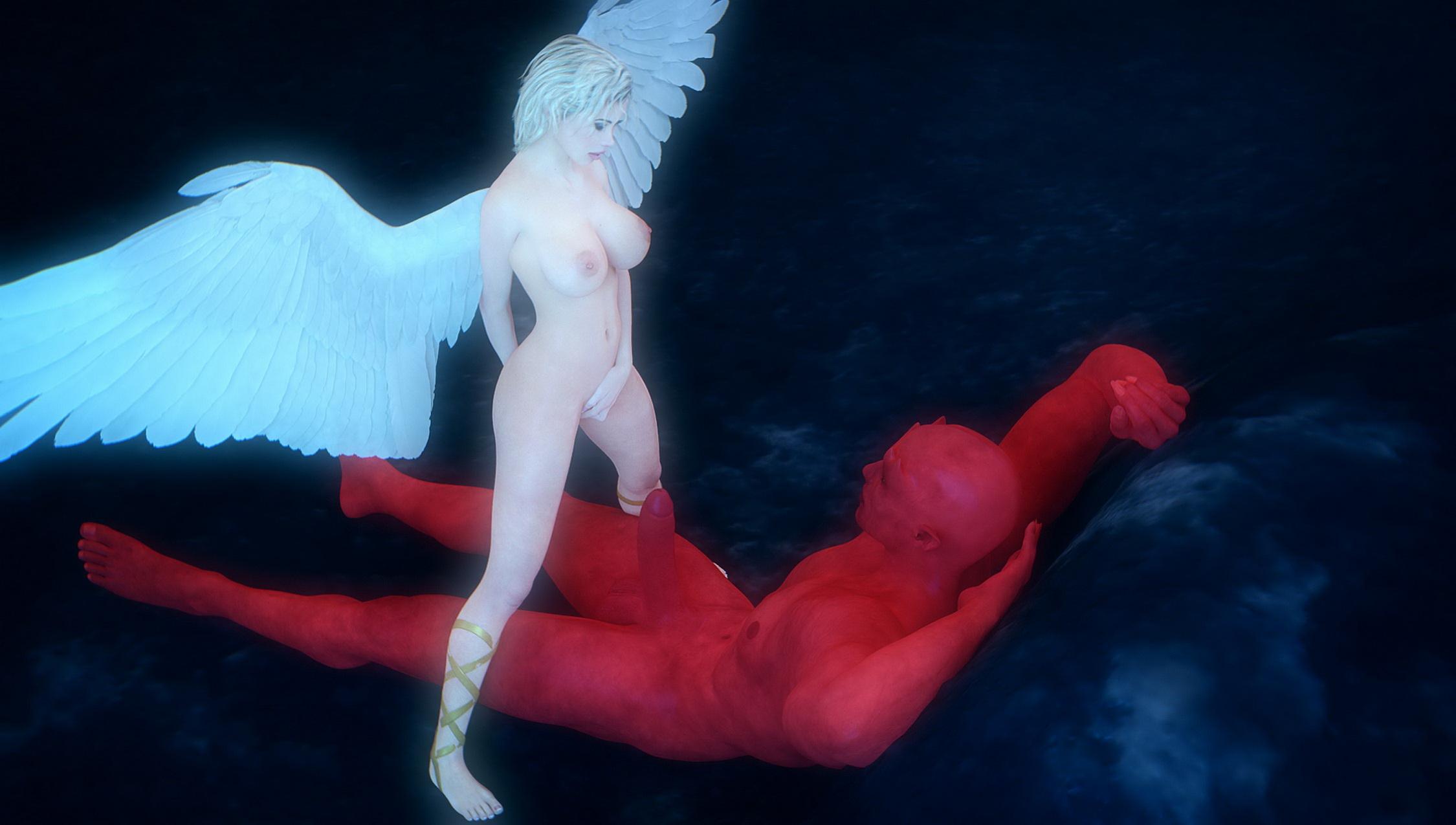 Секс демона и ангела картинки, Голые ангелы и демоны » Смотреть порно картинки 11 фотография