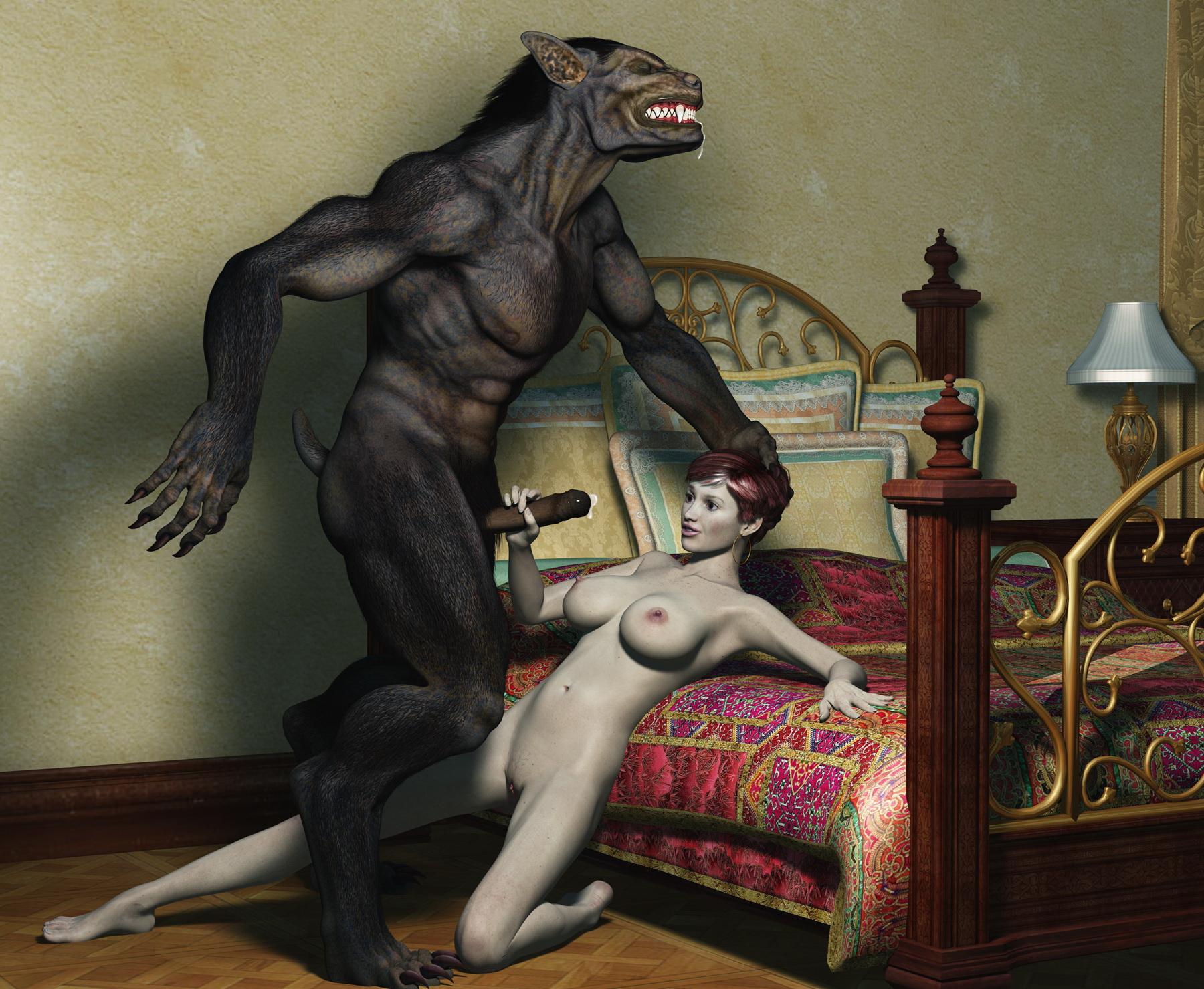 Три д аниме секс монстр 5 фотография