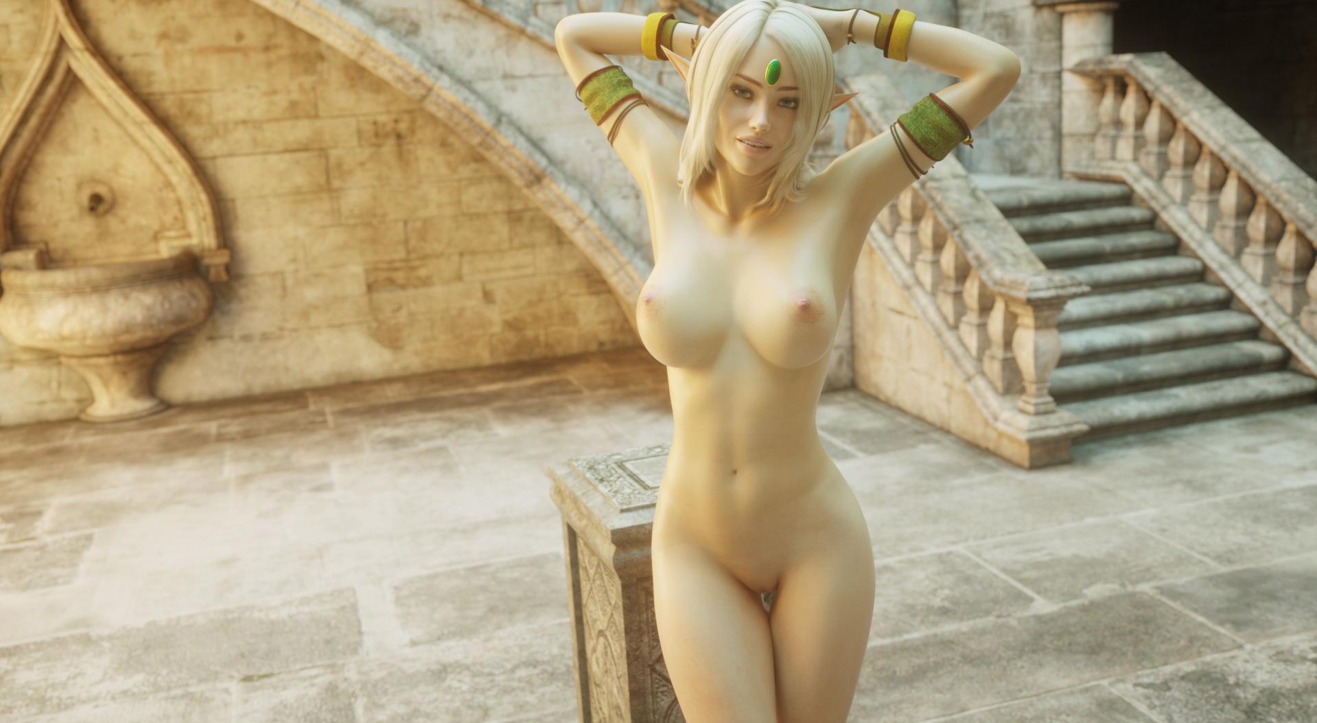 3d busty elves porn scene